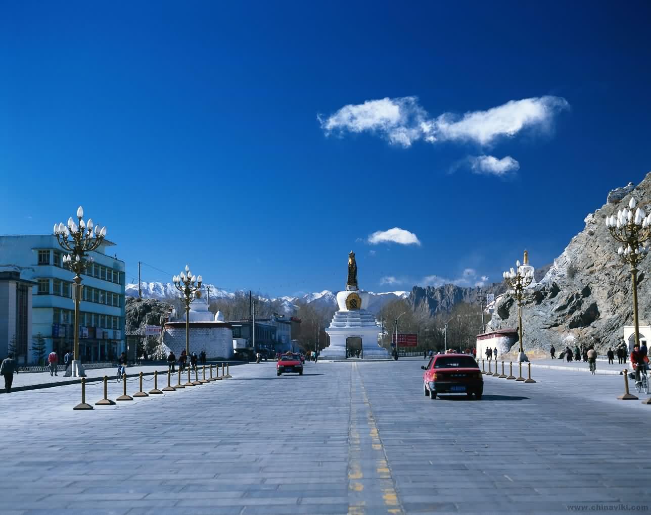 中国チベット自治区ラサ