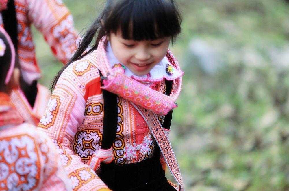 草原郷・苗族の跳花祭