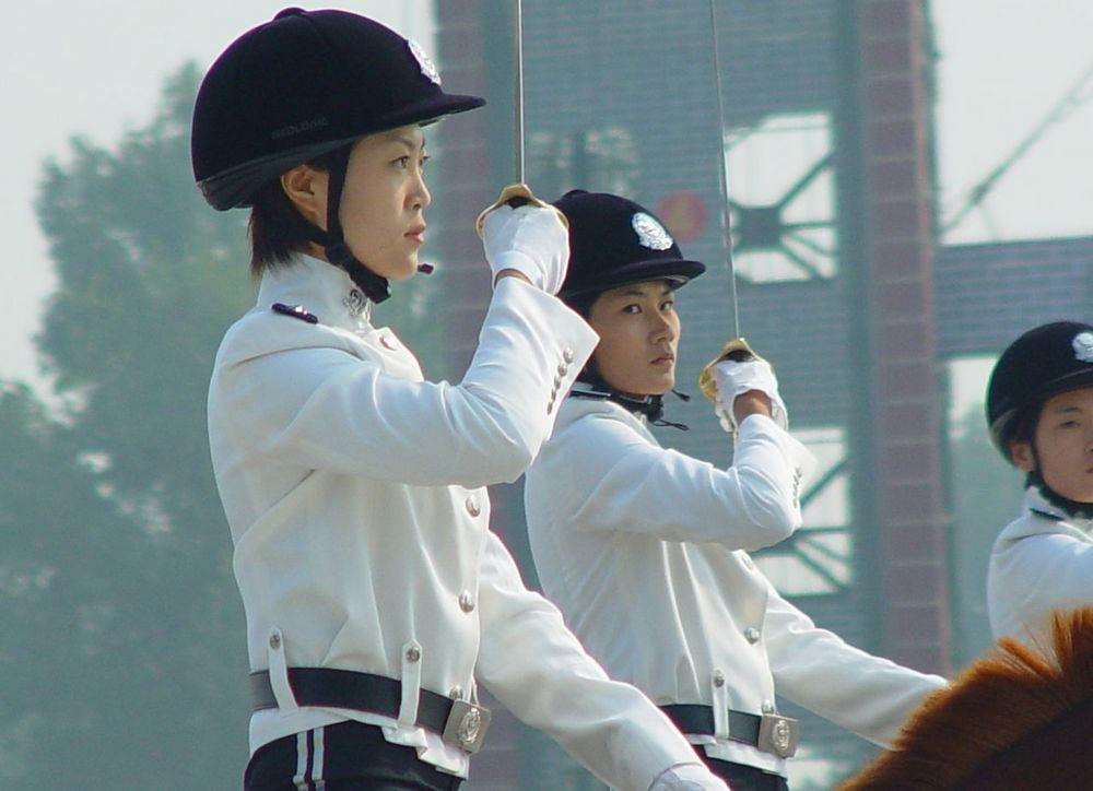 女子骑警基地