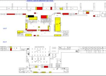 桂林空港案内図