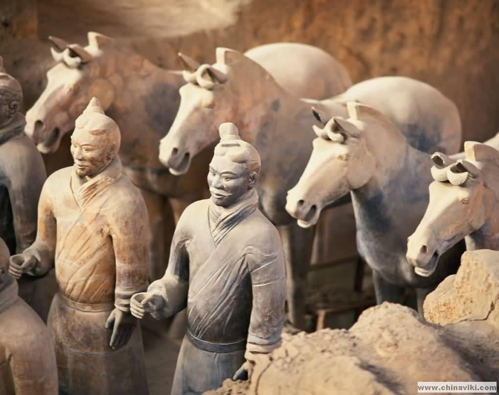 秦の始皇帝陵 兵馬俑